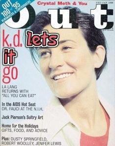 kd lang out magazine let it go